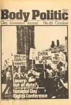 The Body Politic no. 20, September/October 1975