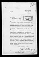 Letter from John L. Caldwell re: memorandum from Persian Foreign Office
