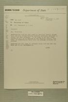 Telegram from Henry Cabot Lodge, Jr. in New York to Secretary of State, Sept. 1, 1955