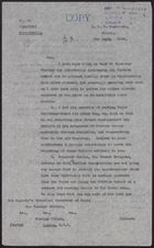Letter from W. Hough to Foreign Office re: Kurdish Revolt, March 9, 1925