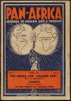 Pan-Africa Journal Of African Life & Thought, June 1947 (Pg.Int.Pa.1B)