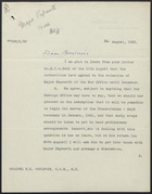 Letter from H. F. Downie to Colonel P. K. Boulnois, August 26, 1939