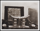 'Another view of the Q.M.'s stool showing the delicate honeycombing...' [possibly III 155 ?]. 8.5 x 10.5 cm. D267