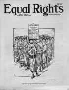Equal Rights, Vol. 01, no. 28, August 25, 1923