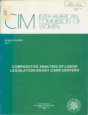 Comparative Analysis of Labor Legislation on Day-Care Centers
