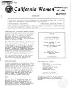 California Women: Bulletin, August 1980