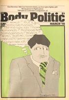 The Body Politic no. 41, March 1978