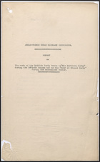 Anglo-French Sudan Boundary Commission Report for 1921-22 Season