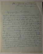 Letter, February 28, 1921