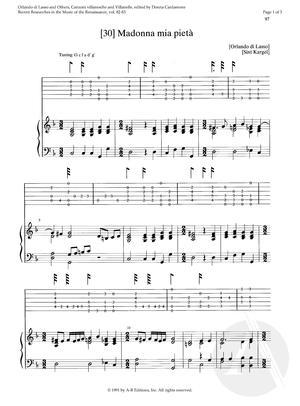 [30] Madonna mia pietà, Op. 1