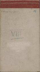 Malaya Field Notes VIII