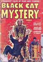 Black Cat Mystery Comics, Vol. 1 no. 33