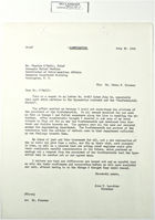Letter from John T. Lassiter to Charles O'Neill, July 30, 1943