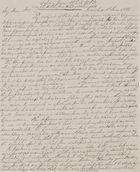 Copy of Letter from William Leslie to Walter Leslie, June 18, 1838