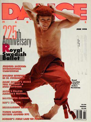 Dance Magazine, Vol. 72, no. 6, June, 1998