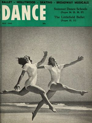 Dance Magazine, Vol. 19, no. 5, May, 1945