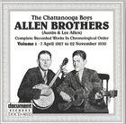 Allen Brothers Vol. 1 (1927-1930)