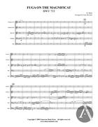 Fuga on the Magnificat, BWV 733, BWV 733