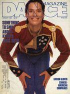Dance Magazine, Vol. 63, no. 8, August, 1989