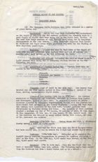 Memo from W.J.M. Menzies to David Heron re: Monthly Report to War Cabinet on Emergency Meals, June 12, 1941