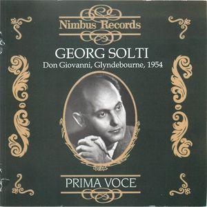 Georg Solti: Don Giovanni, Glyndebourne, 1954 (CD 3)