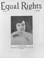 Equal Rights, Vol. 14, no. 31, September 8, 1928
