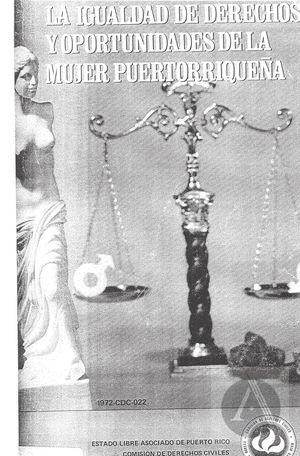 La Igualdad de Derechos y Oportunidades de la Mujer Puertorriquena