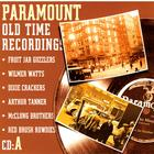 Paramount Old Time Recordings, CD A