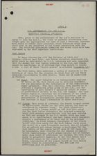 Brief: United Kingdom Association with E.E.C. - Essential Colonial Interests, [undated]