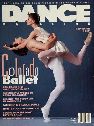Dance Magazine, Vol. 71, no. 9, September, 1997