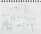 33 Variations: Sketch ideas for furniture