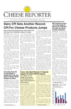 Cheese Reporter, Vol. 138, No. 52, Friday, June 20, 2014