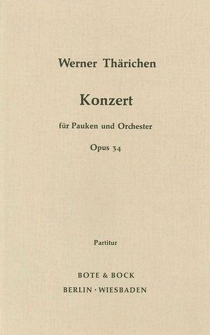 Konzert für Pauken und Orchester, Op. 34