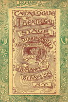 Catalogue of Theatrical Stage Hardware, no. 6