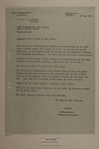 Memo from Schaumberger re: Observations on the Border, April 27, 1951