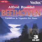 Alfred Brendel Plays Beethoven Variations & Vignettes for Piano (CD 1)