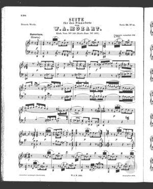 Suite fur das Pianoforte