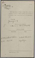 Correspondence re: Turkish Claims on Azerbaijan, October 17 - 28, 1918