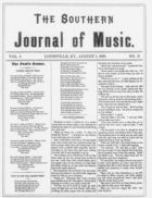 The Southern Journal of Music,  Vol. 1, no. 11, August 1, 1868