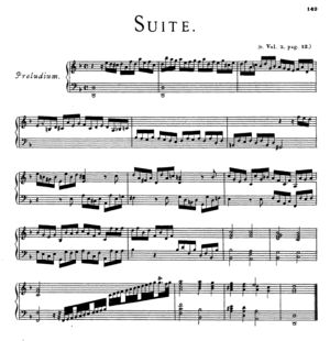 Preludium, HWV 437, D Minor