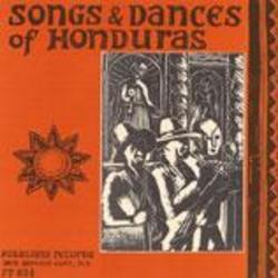 Songs and Dances of Honduras cover art