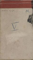 Malaya Field Notes V