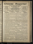 Cheese Reporter, Vol. 55, no. 13, Saturday, December 6, 1930