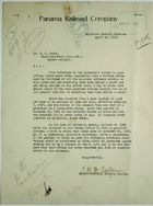 Letter from Coaling Plants Supt. McFarlane to S. W. Heald re: U.S. Citizen and Employee, Samuel Grant, April 14, 1917