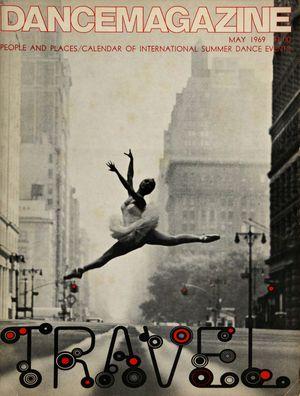 Dance Magazine, Vol. 43, no. 5, May, 1969