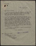 Memo from C. T. Southgate to Miss Alma V. La Badie re: Visiting Racially Integrated Homes for Children, April 24, 1946