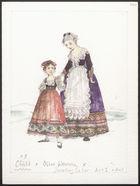 Act 1 & 3. Child X3. Older Woman, Jewellrey Seller