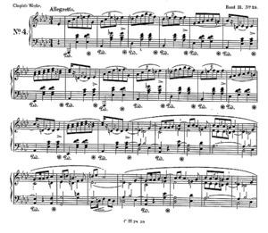 Mazurka no.29, B.126, Op. 41/4, A Flat Major