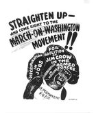 How Did the March on Washington Movement's Critique of American Democracy in the 1940s Awaken African American Women to the Problem of Jane Crow?