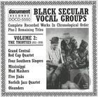 Black Secular Vocal Groups Vol. 2: The Thirties (1931-1939)